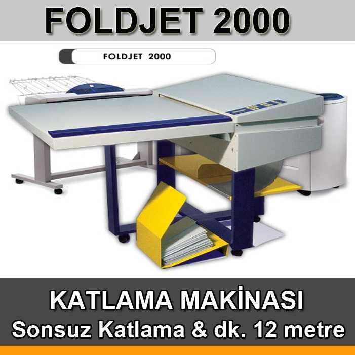 Oce Proje Katlama Makinası Basys FoldJet 2000